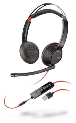 Plantronics Blackwire C5220 Stereo USB-A/3.5mm plug