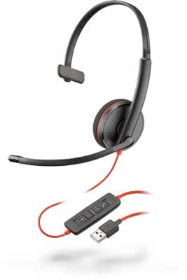 Plantronics Blackwire C3210 Mono USB-A Headset