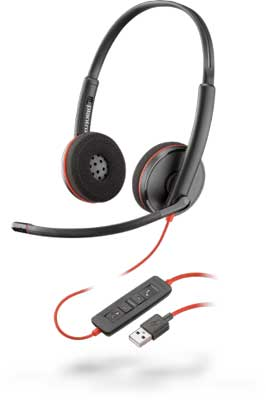 Plantronics Blackwire C3220 Stereo USB-A Headset