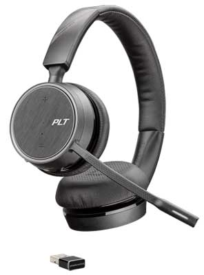 Plantronics Voyager 4220 UC, B4220 USB-A Stereo Headset