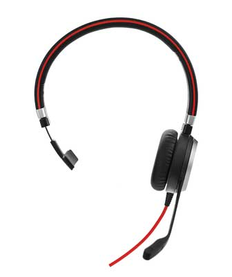 Jabra Evolve 40 Mono, MS, USB-C