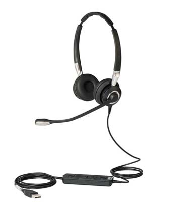 Jabra Biz 2400 II Duo USB Bluetooth