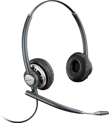 Plantronics HW720 EncorePro Wideband Binaural Noise Cancelling