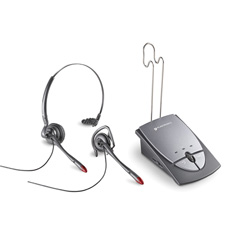 Plantronics S12 -Office Headset System Convertible w/Firefly