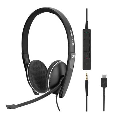 Sennheiser SC 165 USB Binaural 3.5mm/USB Headset