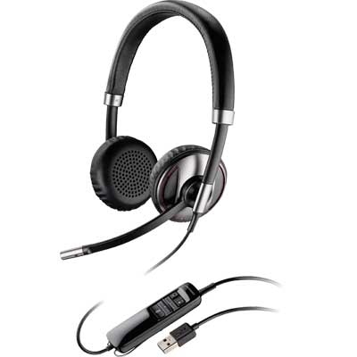 Plantronics Blackwire C720-M Foldable USB Binaural Headset